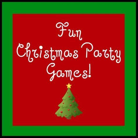Fun Christmas Party Games ~ Need some ideas for fun group