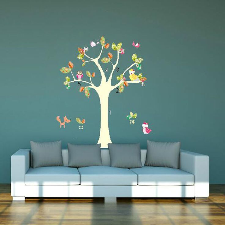 colorful  tree Animal Cartoon Vinyl Wall stickers for kids rooms Home decor DIY Child Wallpaper Art Decals 3D Design House Decor-in Wall Stickers from Home & Garden on Aliexpress.com | Alibaba Group – Jackie Huston