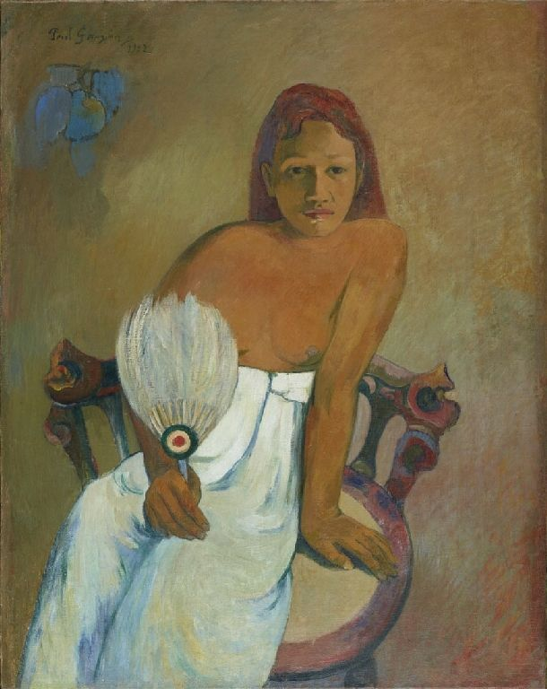 Κορίτσι με βεντάλια (1902) Μουσείο Φόλκβανγκ στο Έσσεν Γερμανίας