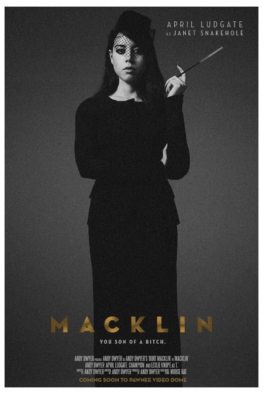 Macklin: The movie we need!