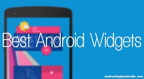 5 Best Android Widgets