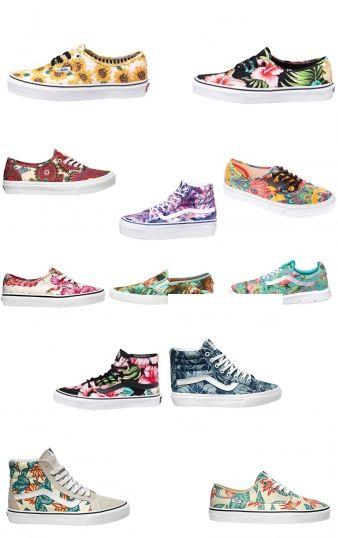 Vans Sneaker mit Blumenprint -  unsere Favoriten!