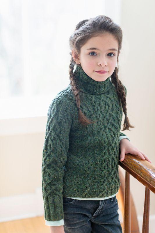 Вяжем детский свитерок от Бруклин Твид
