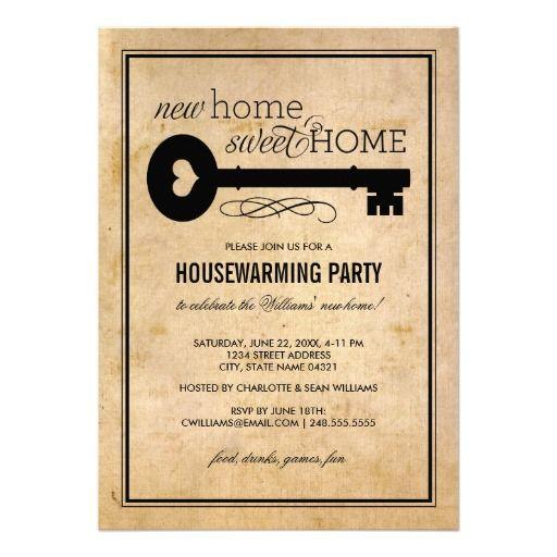 106 best Housewarming Invitations images on Pinterest