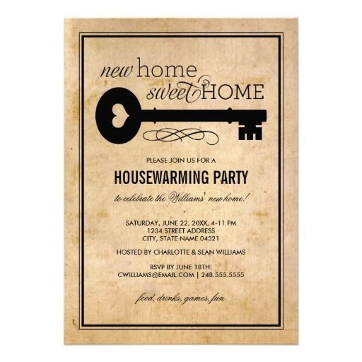 17+ best ideas about housewarming party invitations on pinterest, Party invitations