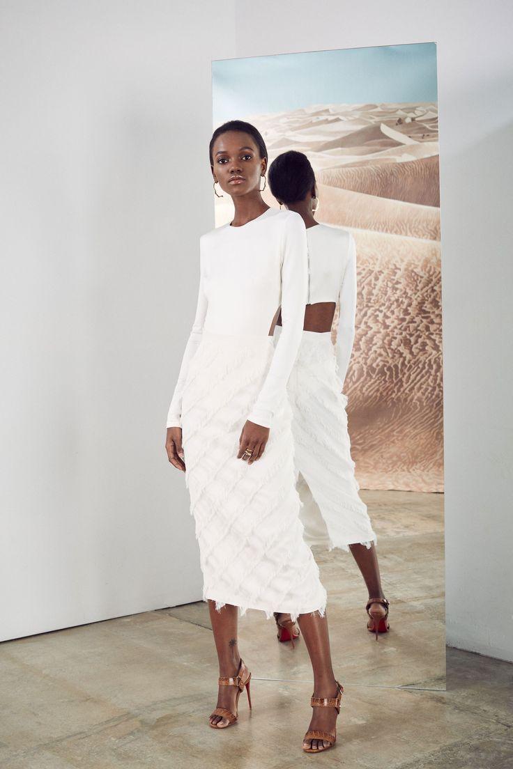 Cushnie et ochs pre fall 2017 fashion show vestidos de for Gimnasio 6 y 45