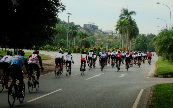 Tour de Barelang 2013 at Simpang Sei Harapan, #Batam