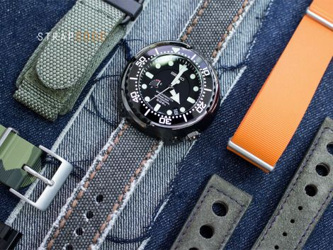 Explore more for Seiko Marine Master Spring Drive #SBDB009  For more details up on our blog: Strapcode.wordpress.com  #MiLTAT #strapcode