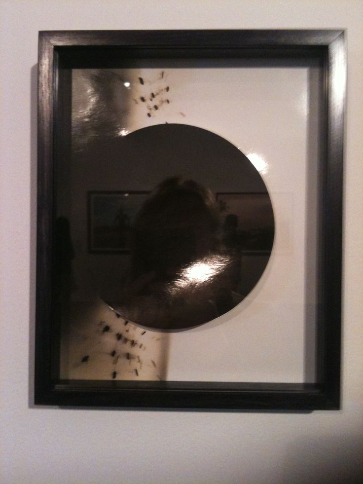 Kate Robertson (Born Australia 1981)  Circle work 1 2013 (From the series Circle works  Toned gelatin silver print