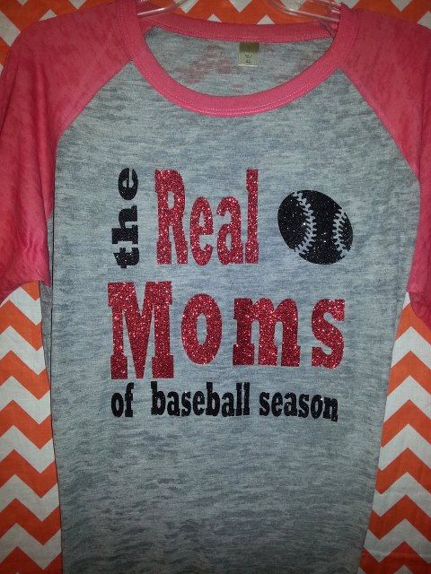 We always said we should have our own reality show! Baseball Mom on Etsy, $35.00