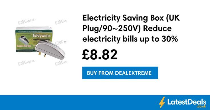Electricity Saving Box (UK Plug/90~250V) Reduce electricity bills up to 30%, £8.82 at DealExtreme