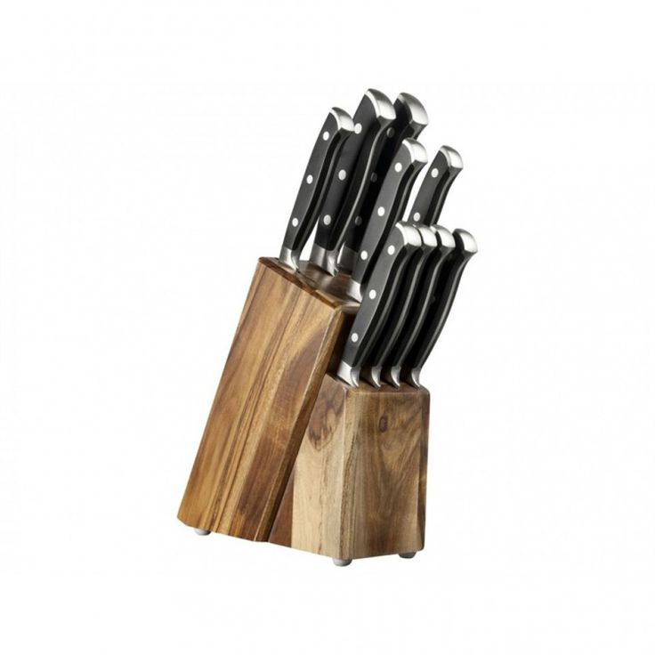 Σετ 9 μαχαιριών σε ξύλινη βάση - TDCKBDB07 - Taylors Eye Witness