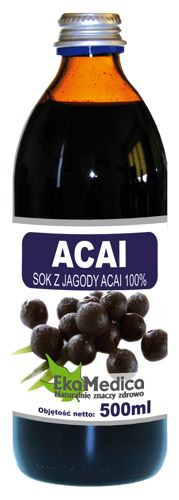 ACAI juice of the acai berry 100% 500ml acai berry juice