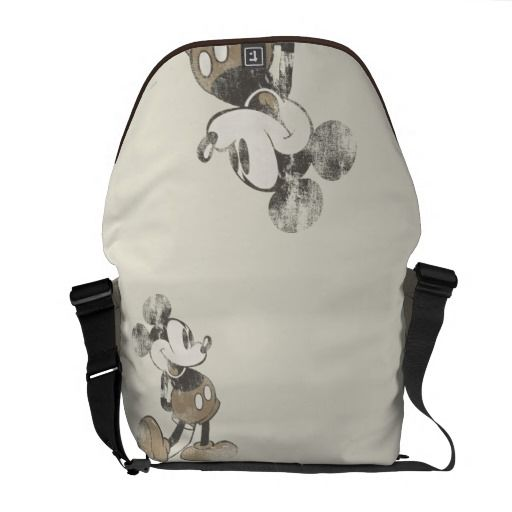 Vintage Mickey Mouse 1 Messenger Bag