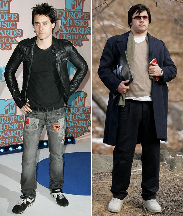 """slender Jared Leto knows what it means to be a real fat man. For the film """"Chapter 27"""" Summer vegetarian recovered as much as 30 pounds! kuhnishkaf"""