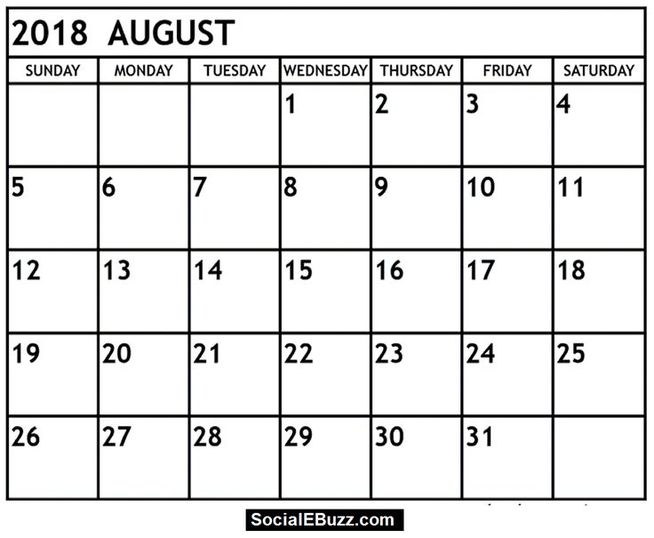 August 2018 Calendar Printable Template, August 2018 Calendar, August Calendar 2018, 2018 August Calendar, August Calendar, August 2018 Printable Calendar, August 2018 Calendar Printable, 2018 August Calendar Printable, August 2018 Calendar PDF, August 2018 Calendar Template, 2018 August Calendar Template, August 2018 Calendar with Holidays, August 2018 Holidays  http://socialebuzz.com/august-2018-calendar-printable-template/