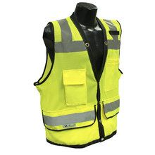 Radians Hi Viz Green Heavy Duty Surveyor Vest Class 2 SV59-2GD | Hi Vis Safety Direct will beat any other price , we are #1 in Hi Visibility Items .