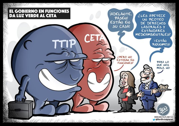 Be CETA my friend (o TTIP, lo que quieras)