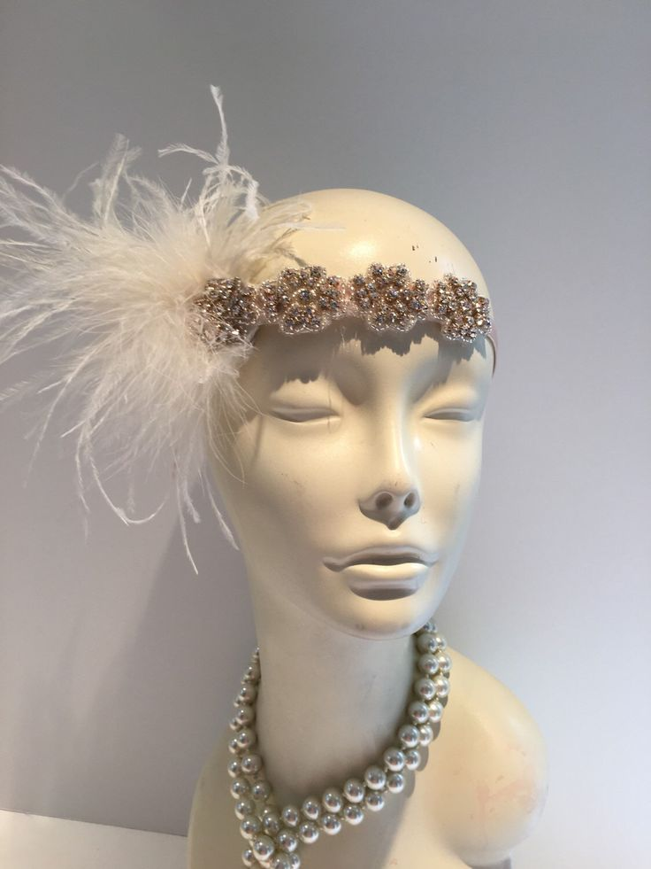 A personal favorite from my Etsy shop https://www.etsy.com/listing/280712904/diner-en-blanc-1920s-white-gatsby-head