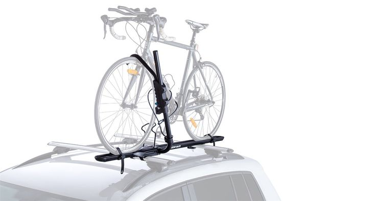 Rhino-Rack RBC050 Hybrid Bike Carrier. Ergonomically shaped handle with release trigger and locking system. Universal mounting hardware fits the most popular roof racks on the market. Fits from 20'' kids bikes to 29'' mountain bikes. Master Key compatible. Suitable for bikes up to 21kg / 45lb.