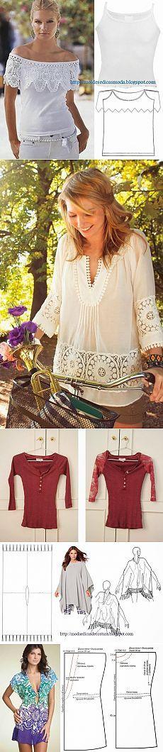 РЕЦИКЛИНГ футболки - 1 | Кройка и шитье