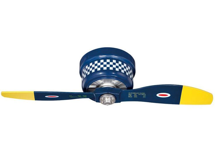 Black Sheep Warbird Airplane Ceiling Fan | Airplane Fan | Aviation Decor