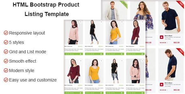 If You Are Looking For A Style To Show Your Products On Your