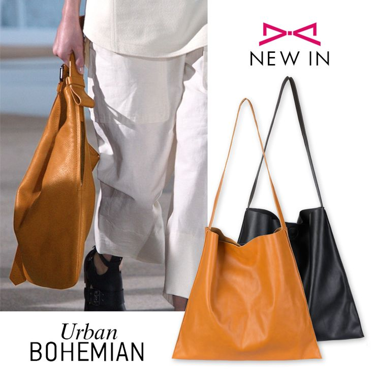 New in!! Urban inspired hobo bag. Minimal design and leather look. Soft touch that you gonna love it! #hobo #ss16 #fashion #urban