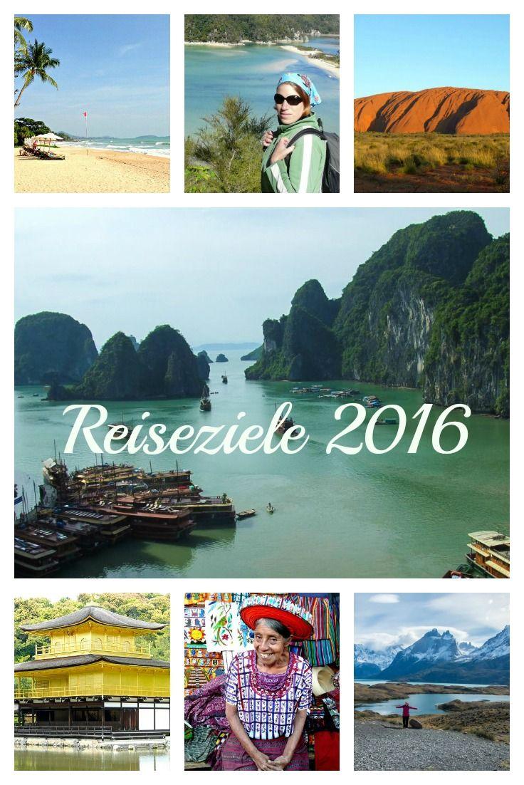 Reiseziele 2016 - Tipps von A bis Z