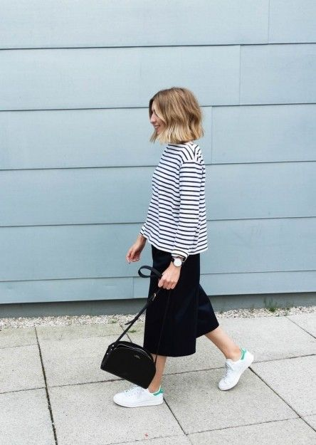 chic ways to wear your… stan smiths like a street style star