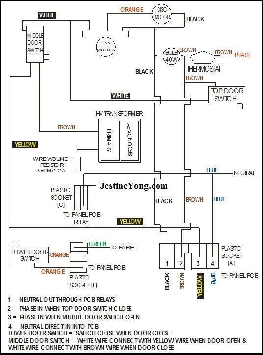 18 samsung double door refrigerator wiring diagram