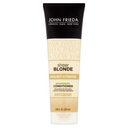 John Frieda Sheer Blonde® Highlight Activating Brightening Conditioner for Darker Blondes 8.45 fl. oz. Tube, Multicolor