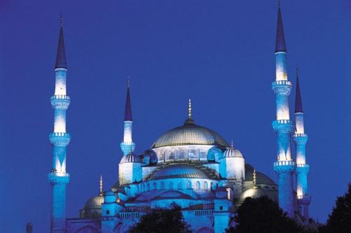 Sultan Ahmed Mosque in Turkey