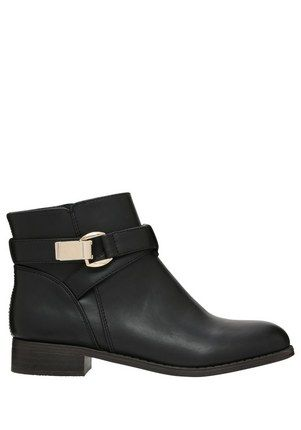 F&F Double Strap Ankle Boots