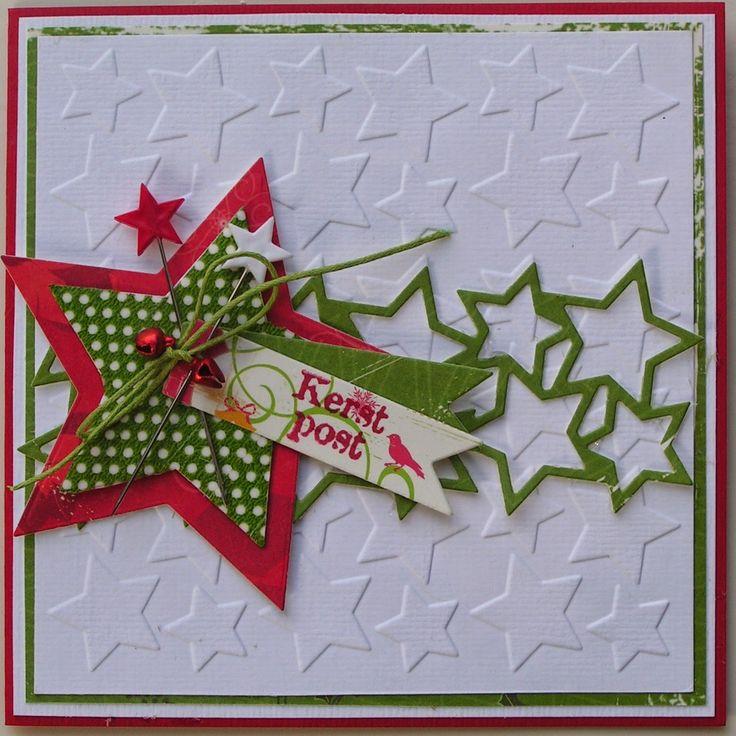 Trijntjes Kaarten: Kerstkaart week 8