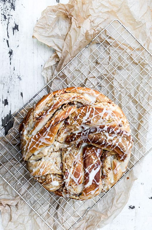 Braided Cinnamon, Apple and Pecan Bread | www.floatingkitchen.net