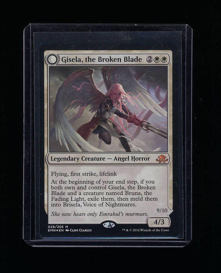 Gisela, The Broken Blade *Foil* - MTG - Eldritch Moon *Foil* #WizardsoftheCoast