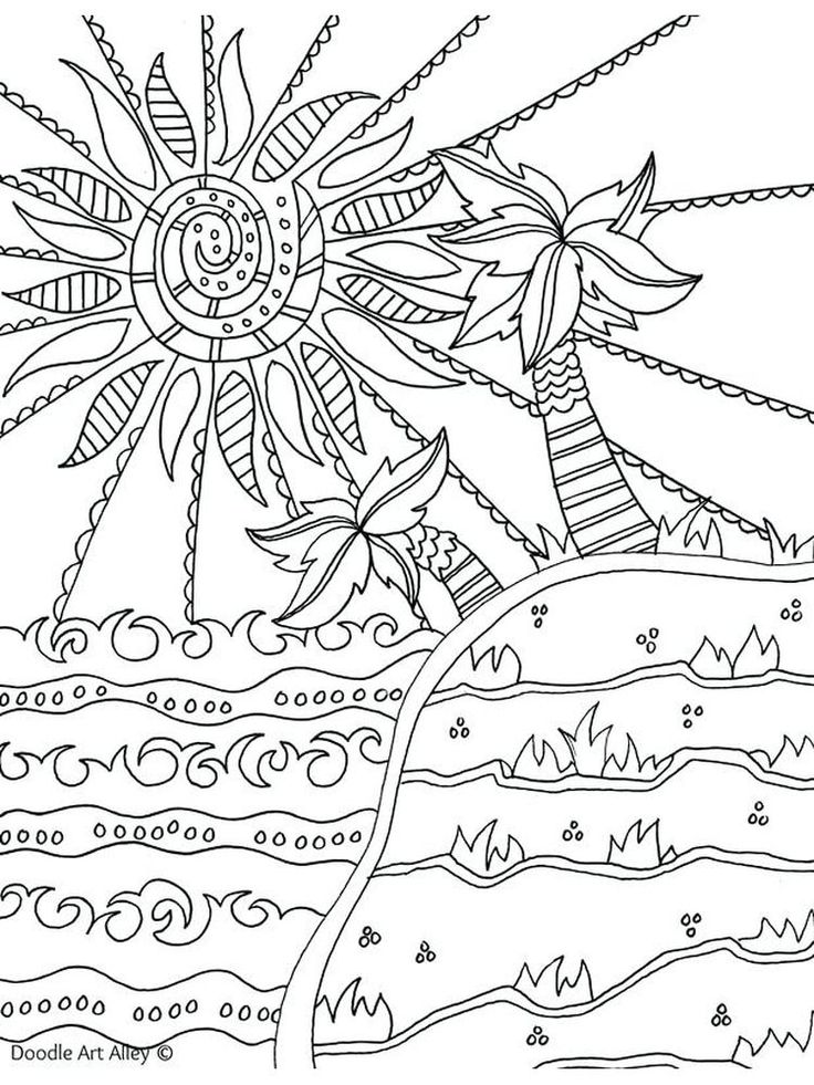 Summer Coloring Sheets Crayola. Below is the Beautiful