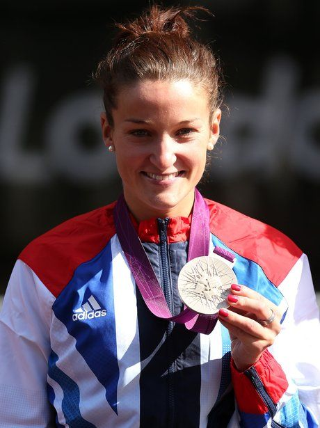 Lizzie Armitstead wins Olympic silver in the Women's Road Race at London 2012.
