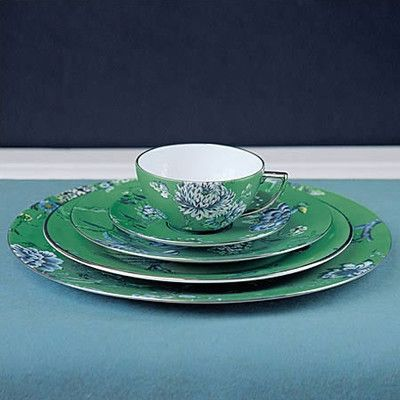 Jasper Conran Chinoiserie Green Dinnerware Collection