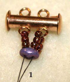 Snakeskin Bracelet step by step ~ Seed Bead Tutorials