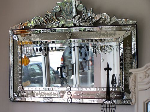 Why do Venetian mirrors have to cost $3 million? Even the knock offs today, that are much simpler, cost a fortune.