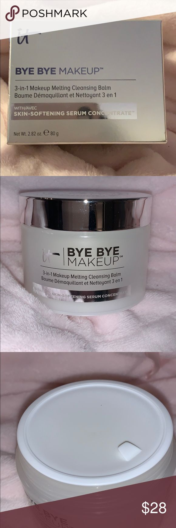 IT Cosmetics Bye Bye Makeup in 2020 Cleansing balm