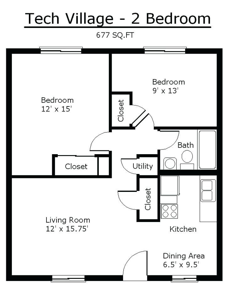 Two Bedroom Floor Plans Small Bedroom Apartment Floor Plans New At Unique Plan Layout Tiny House Floor Plans Bedroom Floor Plans 2 Bedroom Apartment Floor Plan