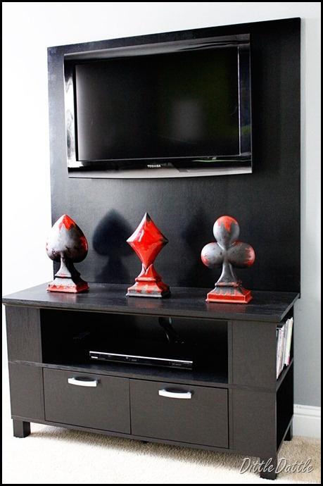 Luxury Hidden Tv Console Cabinet