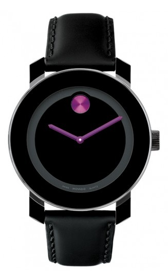 Like this watch!Fashion, Style, Bold Medium, Black Leather, Jewelry, Movado Watches, Bold Watches, Products, Movado Bold