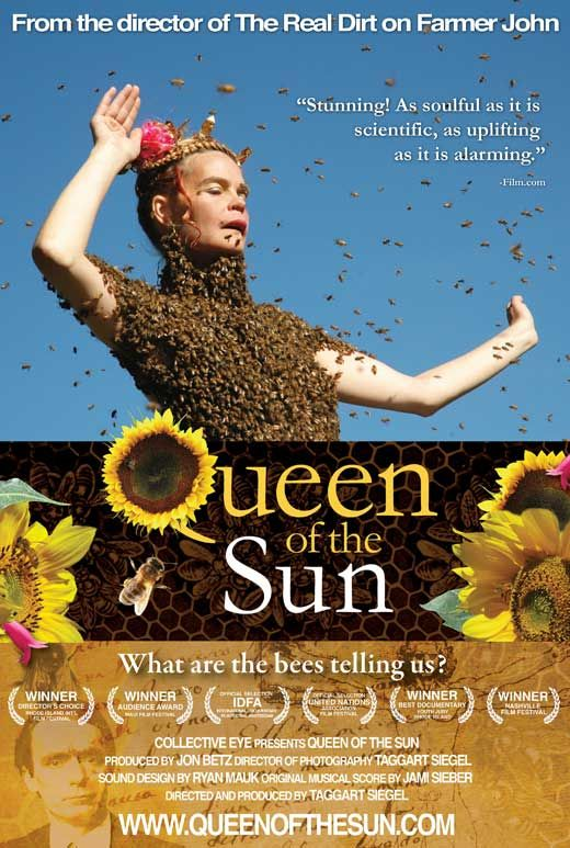 QUEEN OF THE SUN: What Are the Bees Telling Us? is a profound,