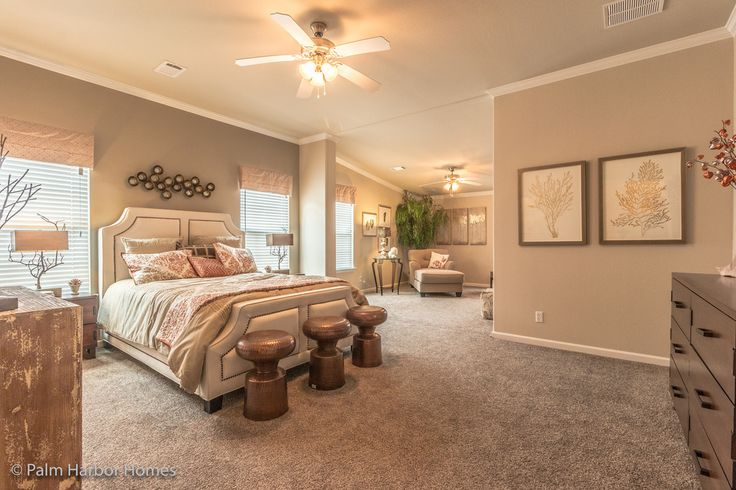 340 best images about the best of palm harbor homes on for Manufactured homes with 2 master suites