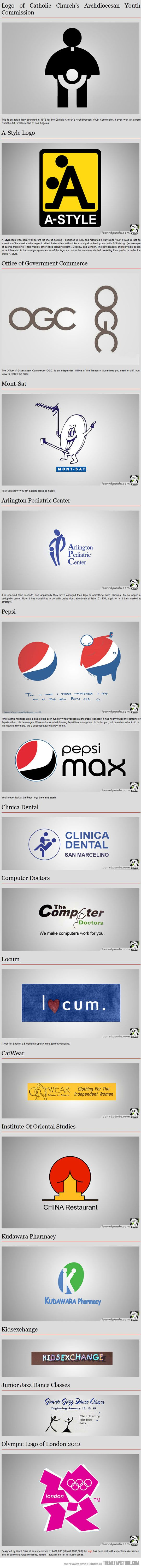 OMFG!  I'm crying I'm laughing so hard at the locum one.  That can't have been a mistake.  LMFAO.  (The worst logos ever designed)