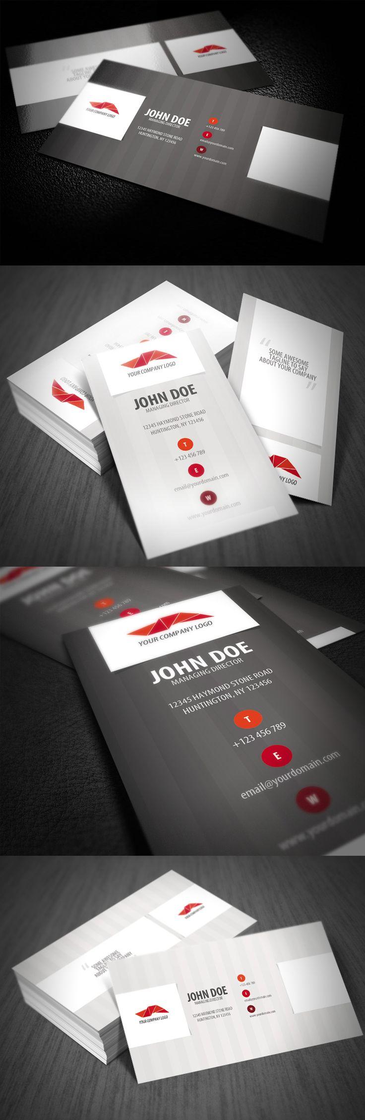 http://creattica.com/business-cards/stripe-style-business-card/68395
